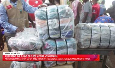 ESRA foundation supports victims of flood in Sugtampia