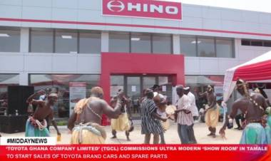 Toyota Ghana Company Limited (TGCL) commissions new office complex in Tamale