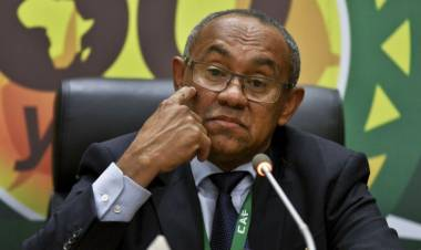 Breaking News : CAF President Ahmad banned by FIFA for five years