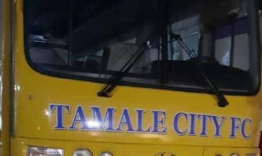 Tamale City Football Club acquires a new bus
