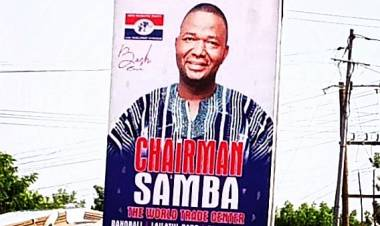 ''It is Irresponsible to ask Samba to go Unopposed'' – Giant Patriots