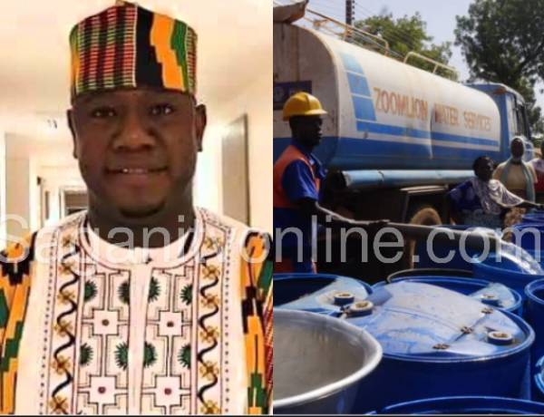 Yendi: Residents hail MP for swift intervention in the peak of water crisis